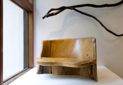 Dise o de muebles a la vieja escuela quiero m s dise o for Muebles con troncos