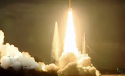Arianespace successfully launches MSG-4 and Star One C4 satellites