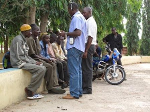 Meeting with Farmers in Ibadan