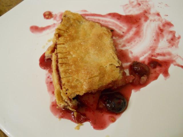 Mango Blueberry Pie