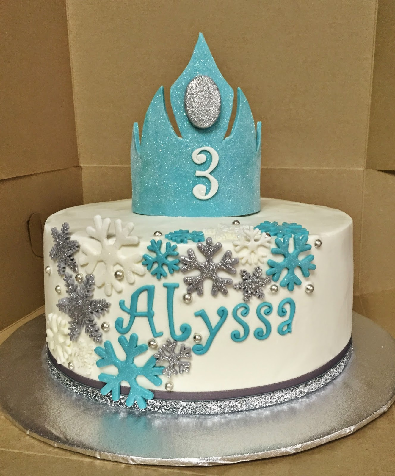 Cakes By Mindy Frozen Cake 10 Quot
