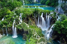 Danau kembar 16 di Kroasia