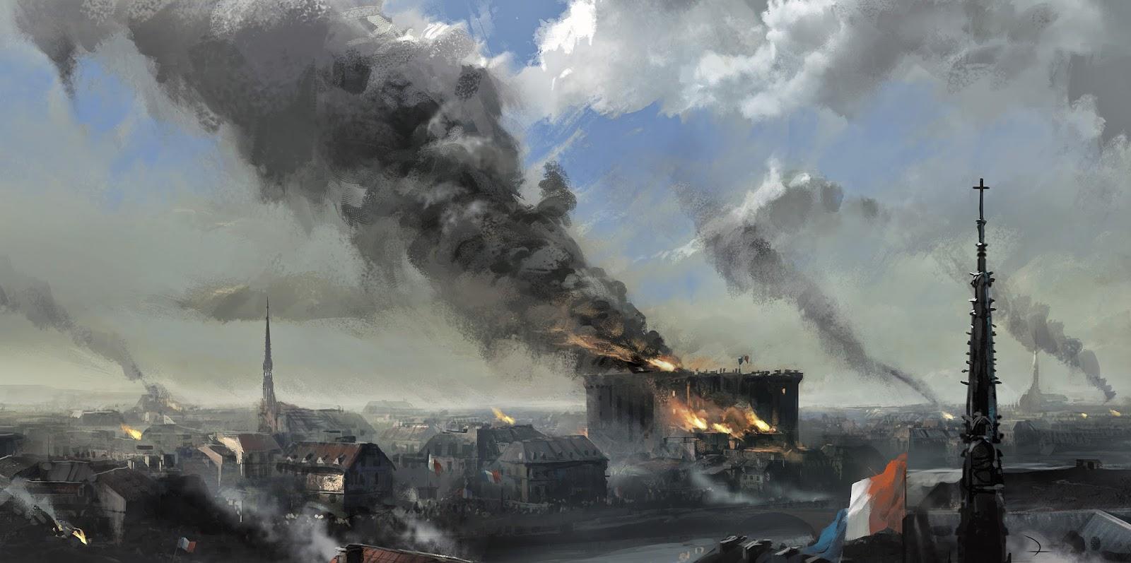 """Videojuegos: nuevos tráilers de """"Assassin's Creed Unity"""" en homenaje a la Fiesta de la Federación de Francia."""