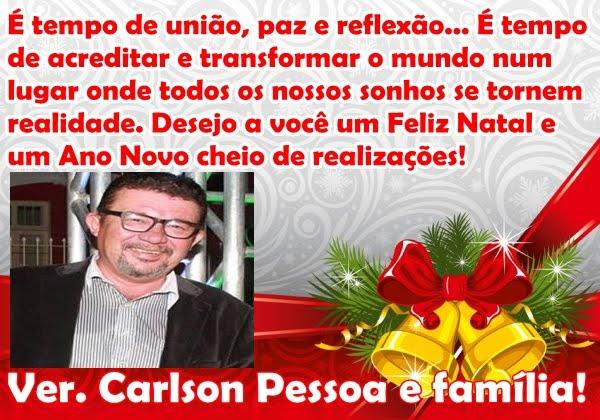 VEREADOR CARLSON PESSOA E FAMÍLIA