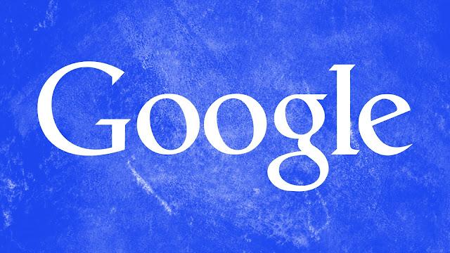 Google Blue Grunge HD Wallpaper