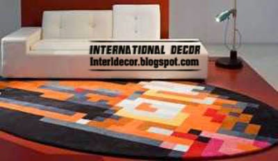 contemporary rugs, colorful rugs