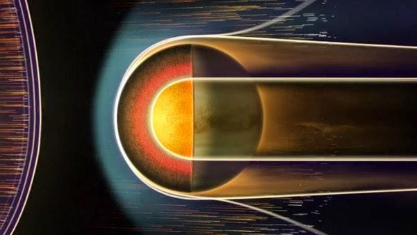 Lubang Misterius, Atmosfer Venus