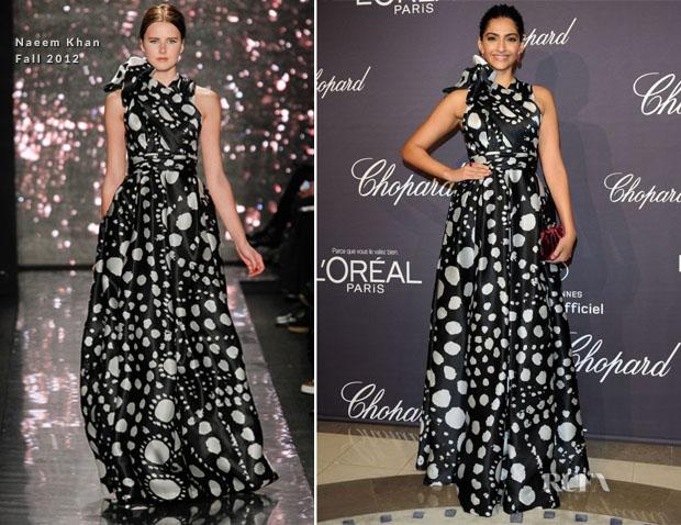 Sonam Kapoor Cannes chopard