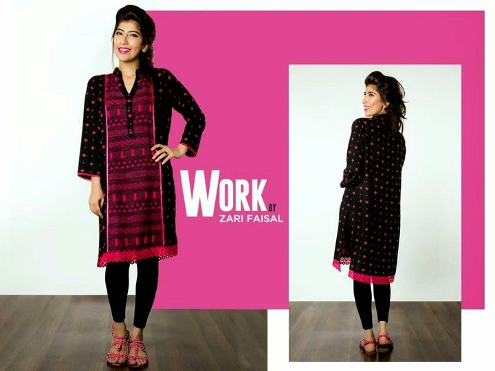 Zari Faisal Eid Dress Collection by Work