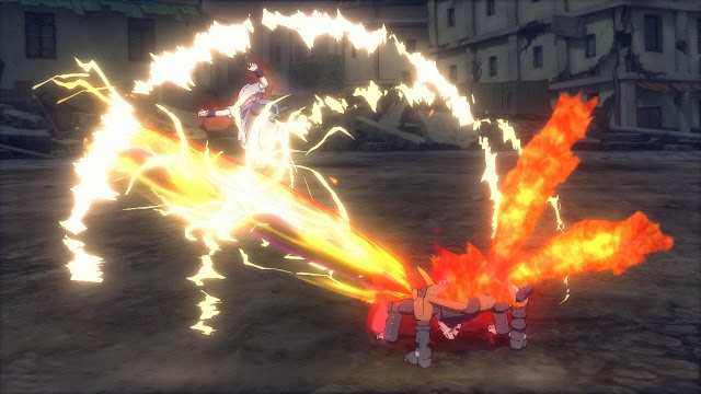 Mecha Kyubi Mode Naruto Beam Attack