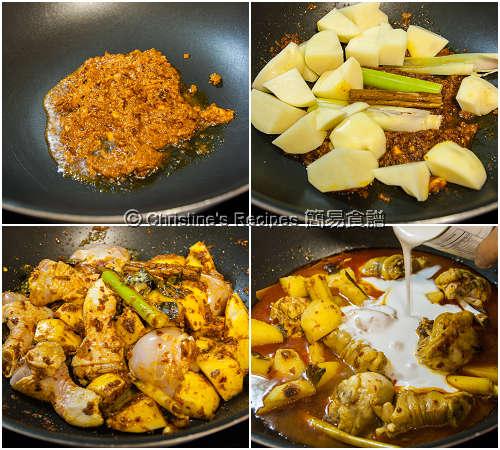 風味咖哩雞製作圖 Curry Chicken Procedures02