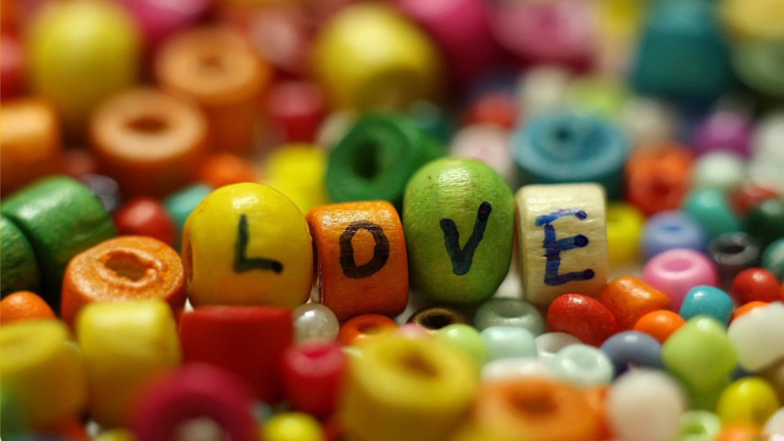 Love Colorful 1920x1080 Wallpaper