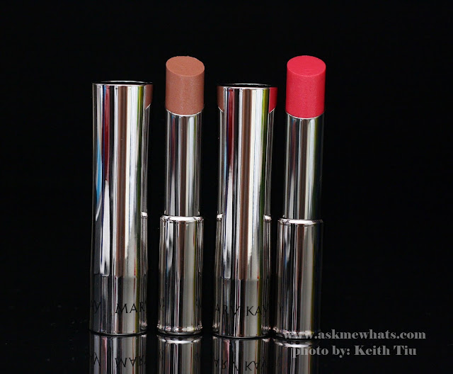 Mary Kay True Dimension Sheer Lipsticks in Subtly You and Magenta Chill