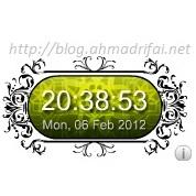 Widget Jam - Widget Clock Untuk Blogger