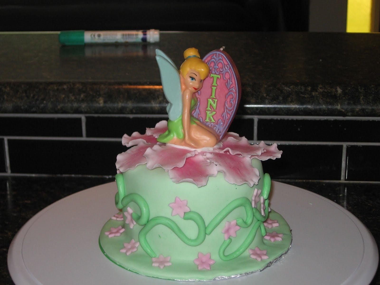 Cake Envy Tinkerbell Smash Cake