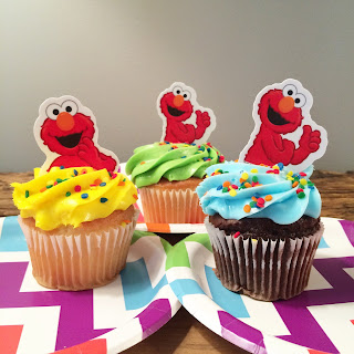 Elmo Rainbow Party Ideas (on the cheap)