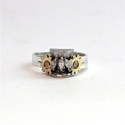 Steampunk Wedding Rings