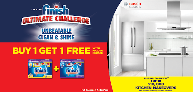 Win a $10,000 Ultimate Kitchen Makeover from Finish & Bosch