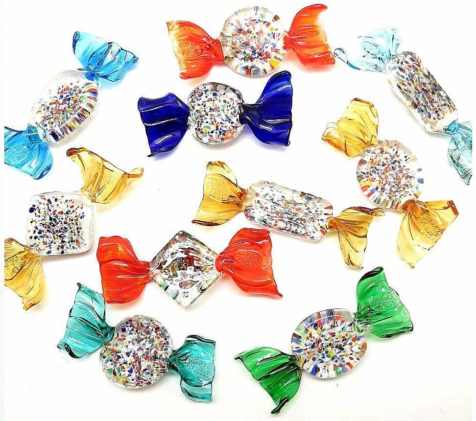 Novita 39 caramelle grandi in vetro di for Graniglia di vetro