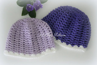 Baby Beanie Simple Crochet Pattern, Size 3-6 Months, $1.85