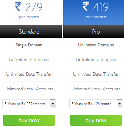 Bluehost India IN Hosting