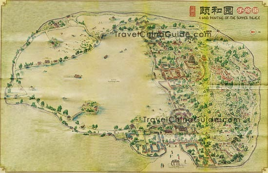 Beijing Summer Palace Map
