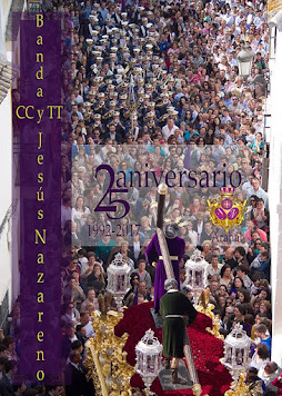 Cartel XXV Aniversario Banda CC y TT Narazareno Arahal