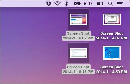 3 cách chụp ảnh màn hình trên Mac OS (Macbook) không cần phần mềm