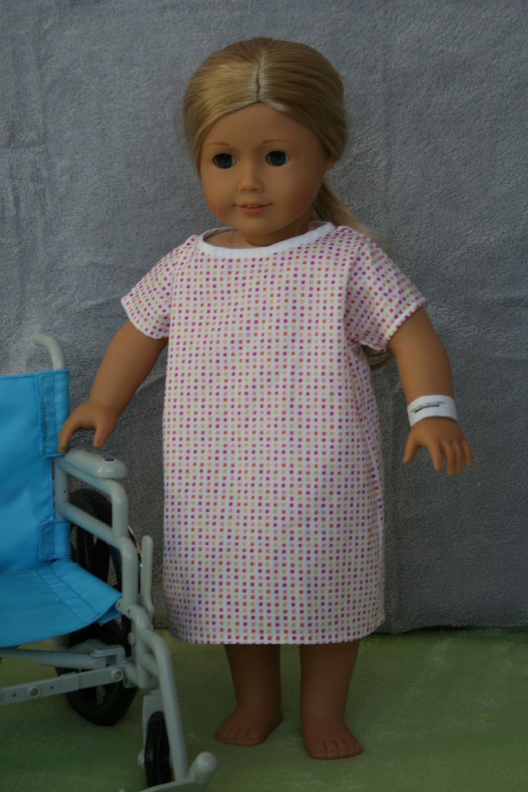 arts and crafts for your american girl doll hospital gown