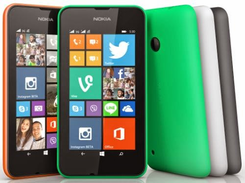 Nokia Lumia 530, Most Affordable Lumia for Php4,990