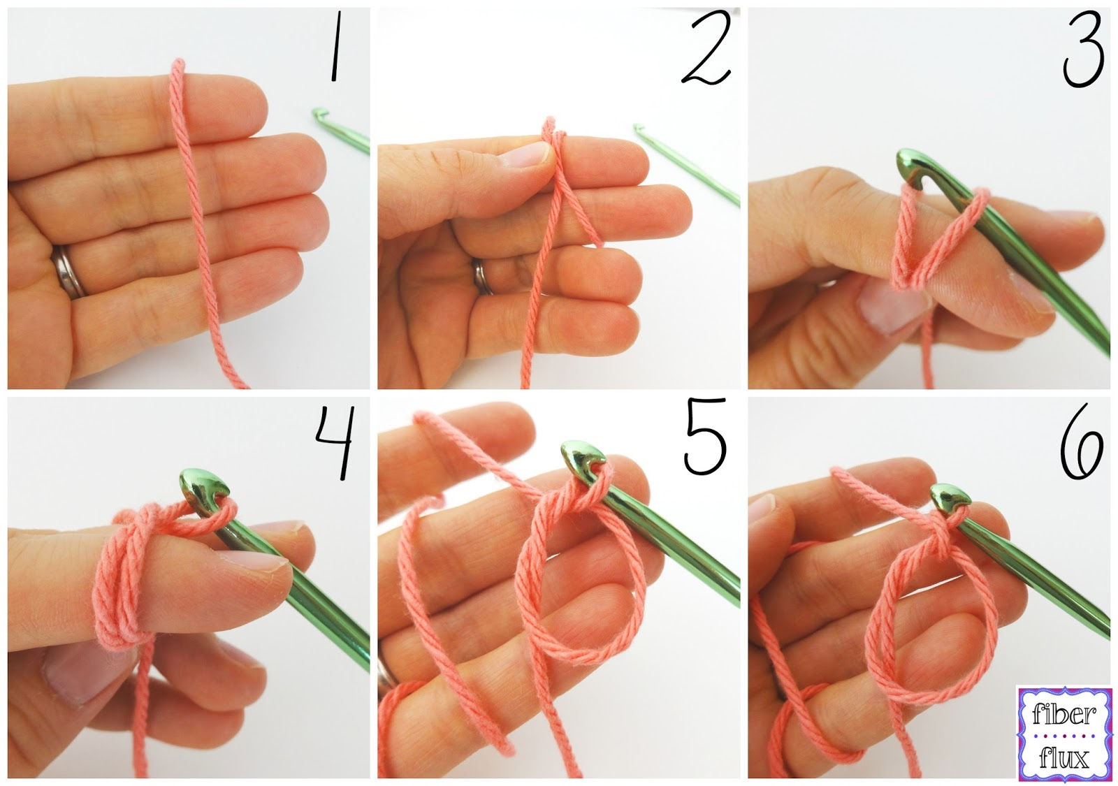 Crochet Magic Loop : Fiber Flux: How to Crochet the Magic Ring/Magic Circle (Photo + Video ...