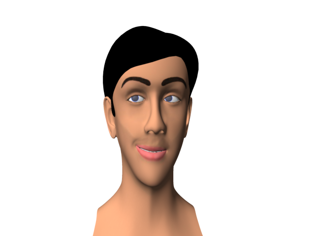 3D_Human_Facial