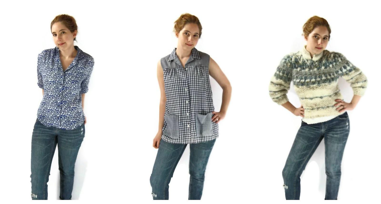 foxburrow vintage spring blouses