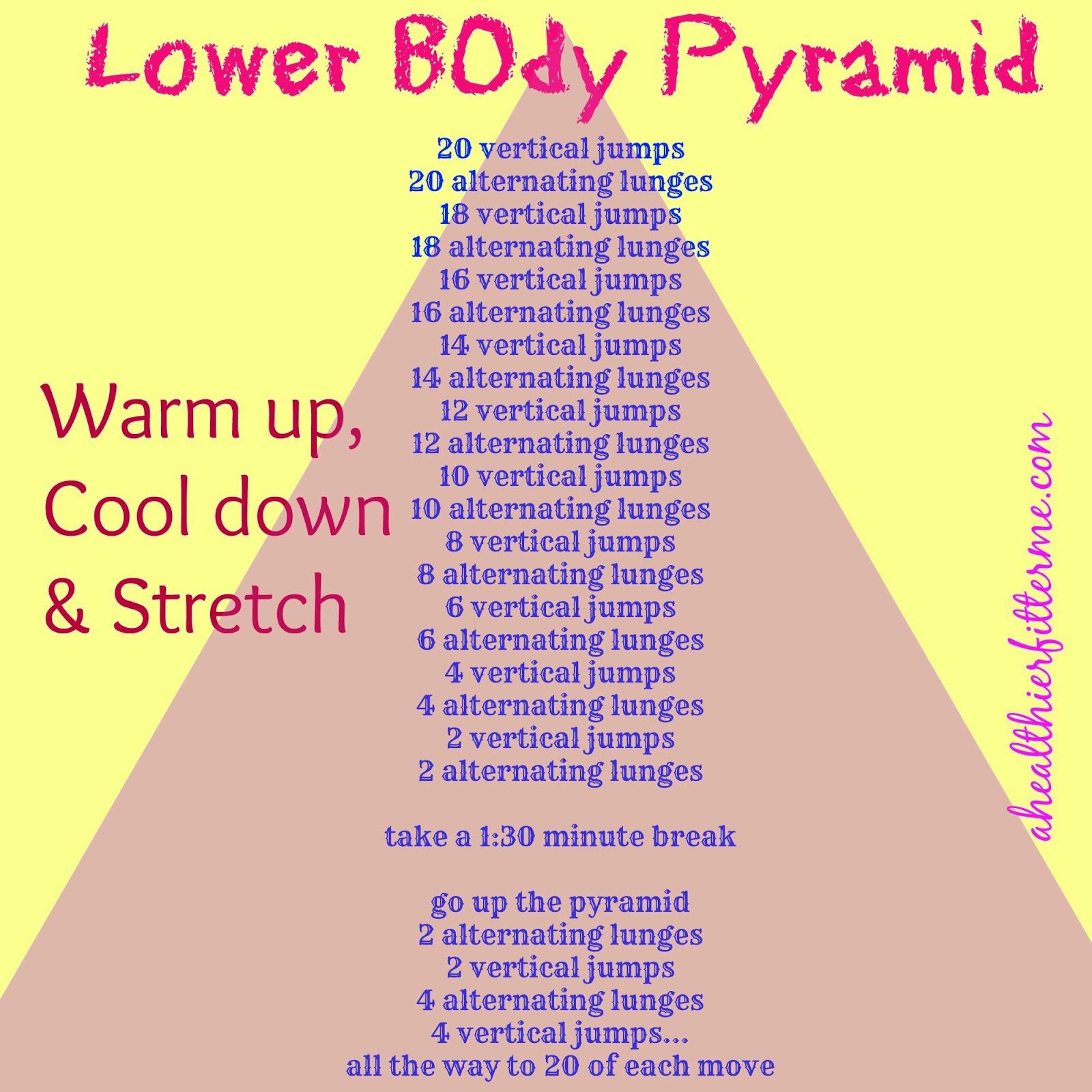 Pyramid Lower Body Workout