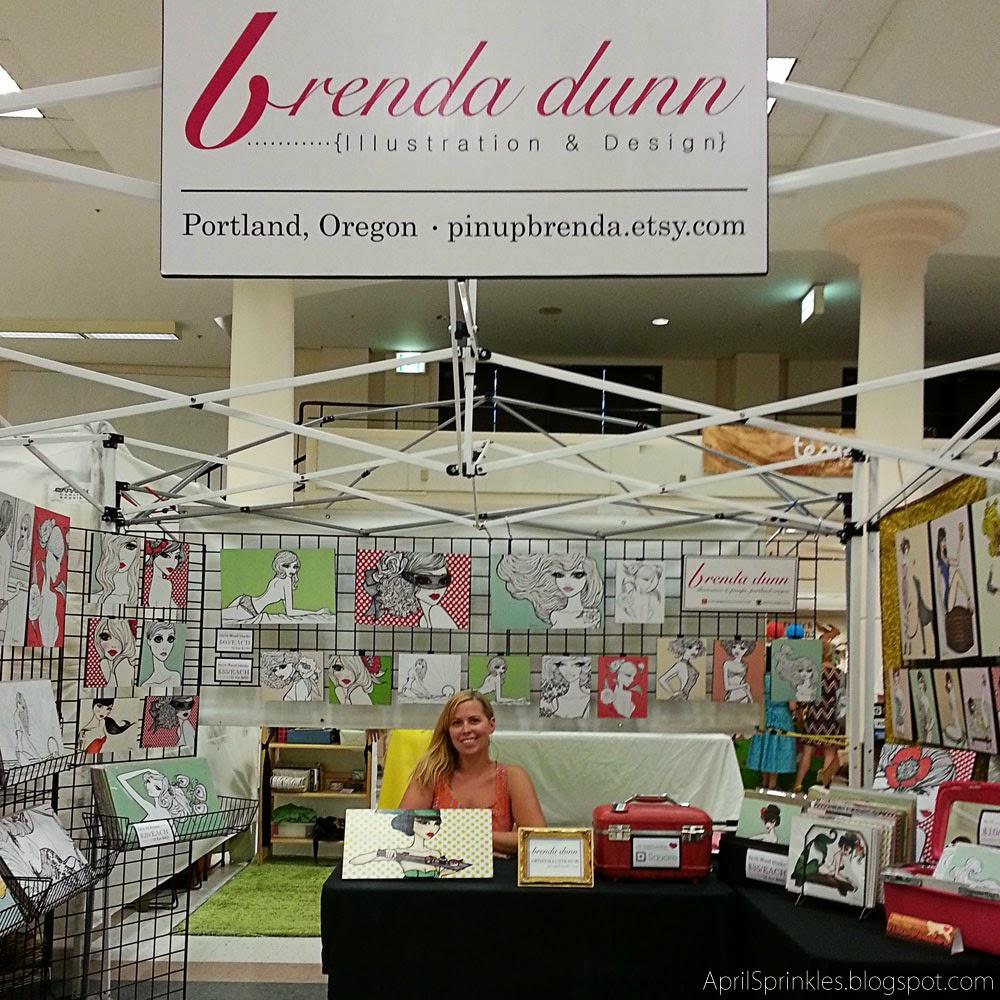 Urban Craft Uprising Artist Showcase: Brenda Dunn Illustration