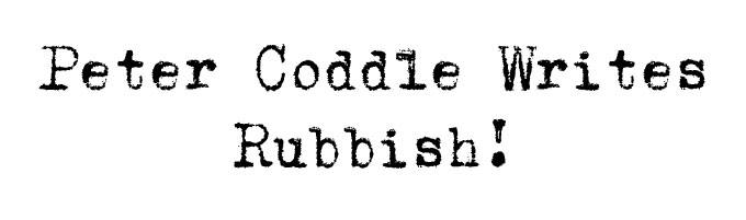 Peter Coddle writes a poem