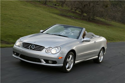 Mercedes Benz CLK350 Wallpaper