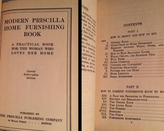 Modern Priscilla Home Furnishing Book