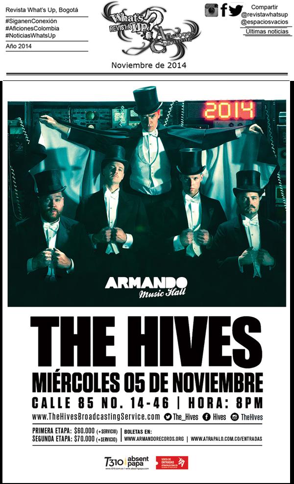 The-Hives-sobre-conciertos- Bogotá
