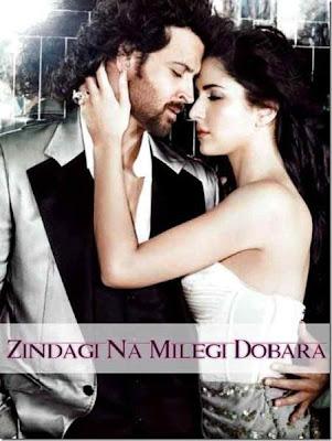 Zindagi Na Milegi Dobara (2011) DVD Rip 750 MB poster, Zindagi Na Milegi Dobara (2011) DVD Rip 750 MB dvd cover, Zindagi Na Milegi Dobara