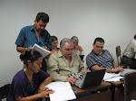 Sesión de trabajo en el Instituto Tecnológico de Costa Rica