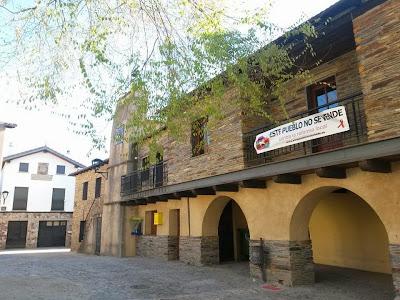 Monsagro, este pueblo no se vende, contra la reforma local