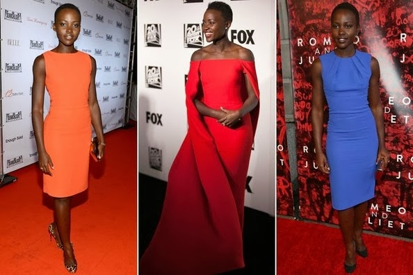 Lupita Nyong'o's Color Dresses