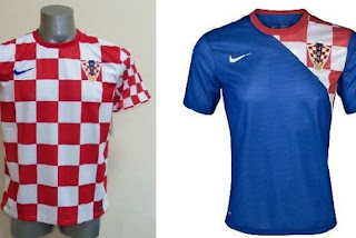 Kostum Kroasia Euro 2012
