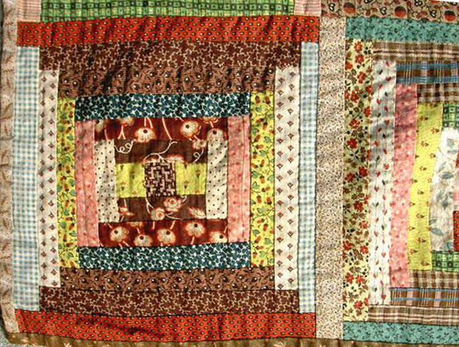 Odd Log Cabin A Free Quilt Pattern For Jellyrolls Barbara