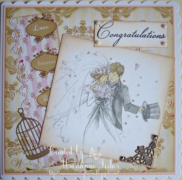 mariannes craftroom lotv wedding