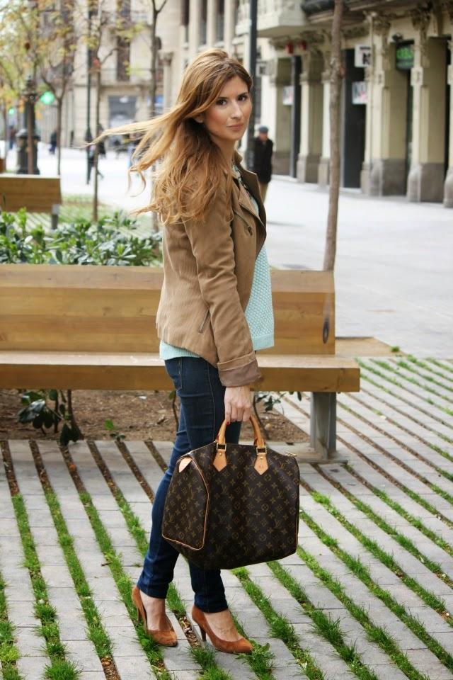 Speedy Louis Vuitton. Biker camel.