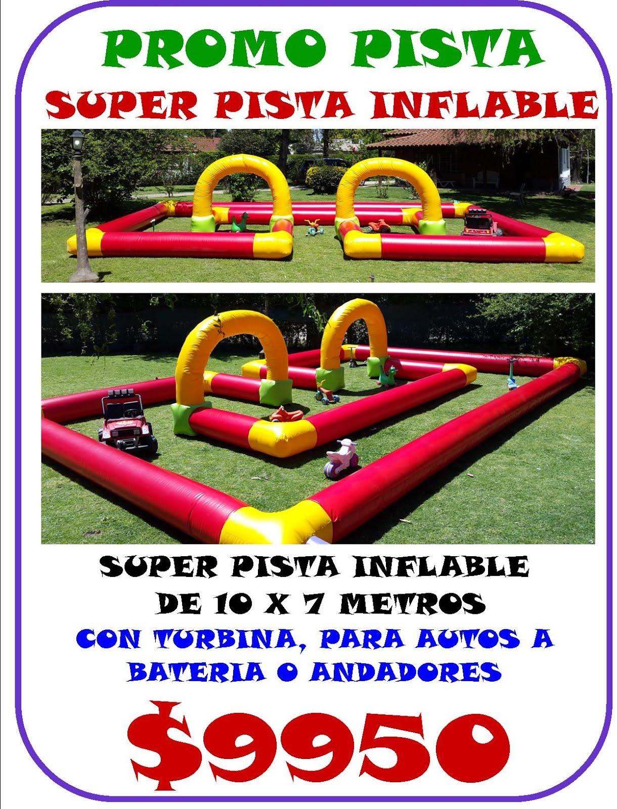 PISTA INFLABLE
