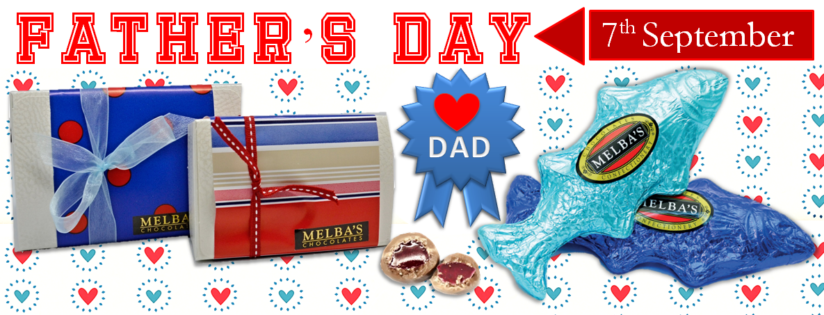 Father's Day Melba's Chocolates