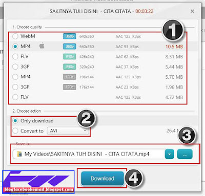 cara mendownload video gratis dengan software downloader